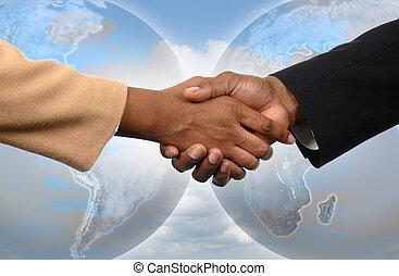 גלובלי, הסכם
