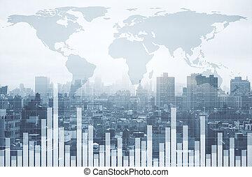 גלובלי, מושג, אחסן, ממן, עסק