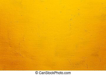 גראנג, טקסטורה, רקע, קיר, צהוב