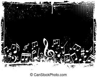 גראנג, רואה, מוסיקה