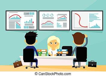 גרף, אנשים, ממן, נטיה, סוחרים, עסק, כספי, למטה, משבר, מחשבים, משרד, נפול, שלילי, שולחן