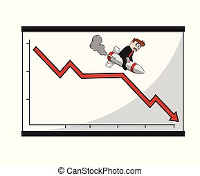 גרף, מאבד, איש עסקים, tabel