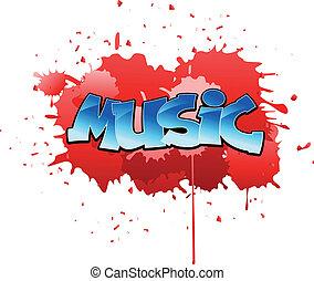 גרפיטי, מוסיקה, רקע