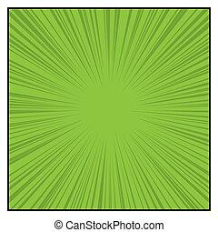 גרפי, עיתונים מצוירים, קוים, effects., צבע, וקטור, ראדיאלי, האץ