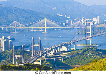 גשרים, הונג קונג