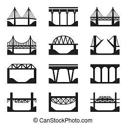 גשרים, שונה, סוגים