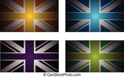 דגלים, בריטניה