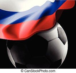 דגלל כדורגל, רוסיה, רקע