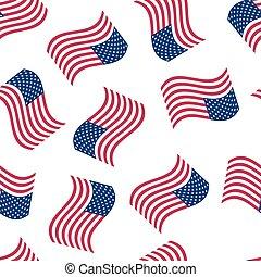 דגל אמריקאי, seamless, רקע
