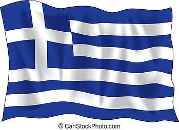 דגל יווני