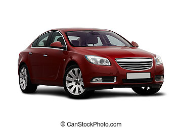 דובדבן, הבט, front-side, מכונית אדומה