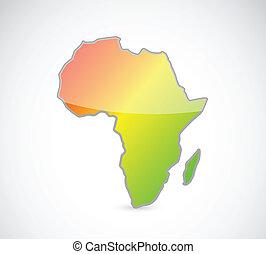 דוגמה, מפה, עצב, תאר, אפריקה