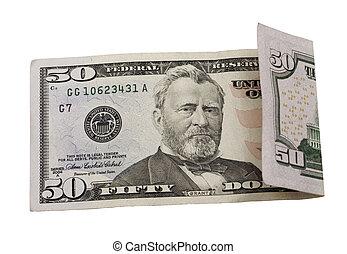 דולרים, חמשים