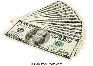 דולרים, כמה, אותנו