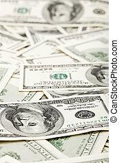 דולרים, עסק, הרבה, אותנו, רקע, 100