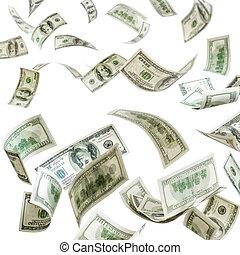 דולרים, רואה, לפול, סמוך, הפרד