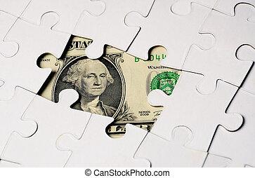 דולר, puzzel