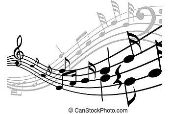 דחוף, מוסיקלי, רקע