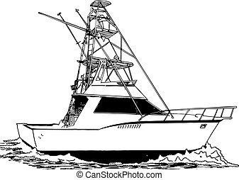 דייג, מגדל, ספורט, גדול