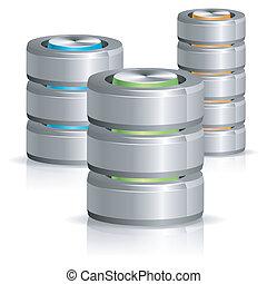 דיסק, מאגר נתונים, קשה, איקון
