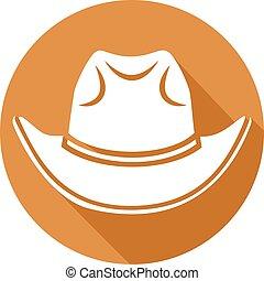 דירה, כובע של קאובוי, איקון