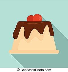 דירה, עוגה, כמו שמנת, איקון, סיגנון