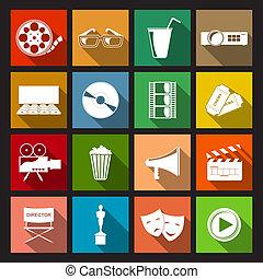 דירה, קולנוע, איקונים