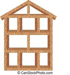 דיר מסגרת, עץ