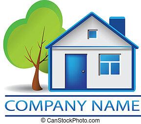 דיר, עץ, אמיתי, לוגו, רכוש