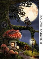 דיר, פאיריטאל, (mushroom)