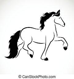 דמות, וקטור, סוס