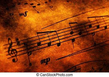 דף, מושג, גראנג, מוסיקה