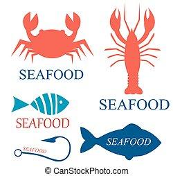 דפוסיות, לוגו, מאכלי ים, קבע