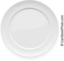 דפן, לבן, ארוחת ערב, טופס