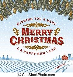 דש, בציר, חג המולד שמח, כרטיס