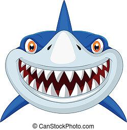הובל, ציור היתולי, כריש