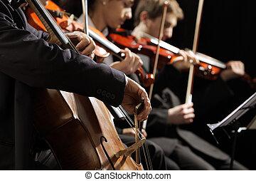 הופעה של מוסיקה, קלאסי
