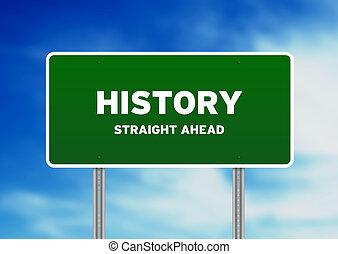 היסטוריה, סימן של רחוב