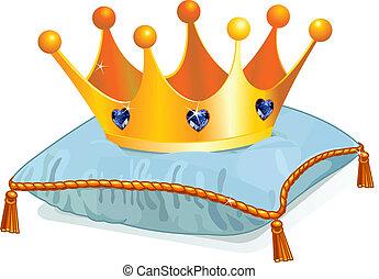 הכתר, queen's, כרית