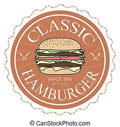 המבורגר, קלאסי
