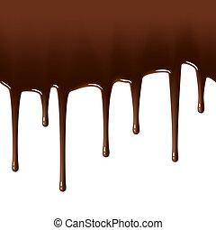 המס, לטפטף, שוקולד