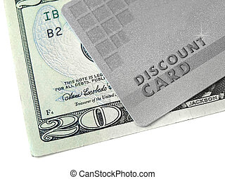 הנחה, כרטיס, כסף