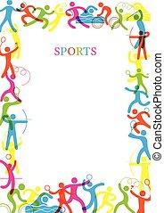 הסגר, צבעוני, ספורט