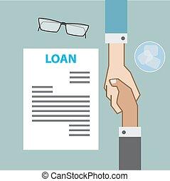 הסכם, עסק, הלוה, , בנקאות, שיתופיות, ידיים, קרוב, הציין השקפה