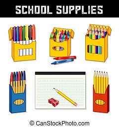הספקות, בית ספר, השקע