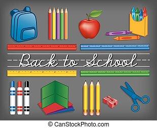 הספקות, בית ספר, לוח לגיר, השקע