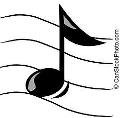 הערה מוסיקלית, צוות