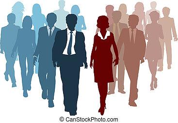 הצטרף, עסק, פתרון, תחרות, צוותים, אמצעים
