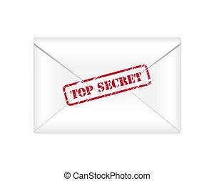 הציין, מעטפה, סוד