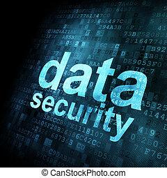 הקרן, בטחון של נתונים, concept:, דיגיטלי